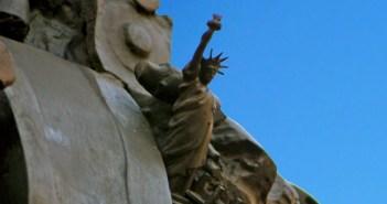 Statue of Liberty hidden in Paris