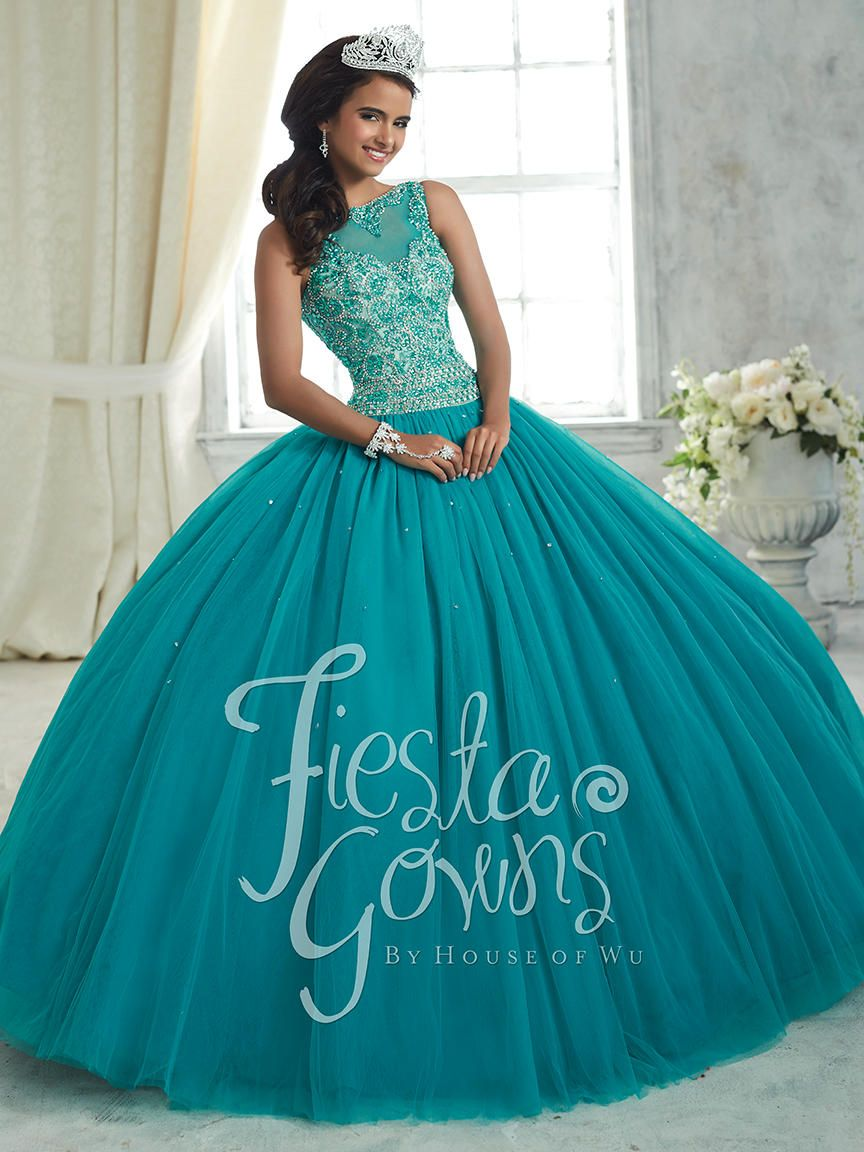 Dress Maternity House Of Wu 56314 Beaded Illusion Fiesta Gown: French Novelty