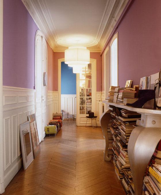 Le style haussmannien revisit frenchy fancy - Faience pour couloir ...