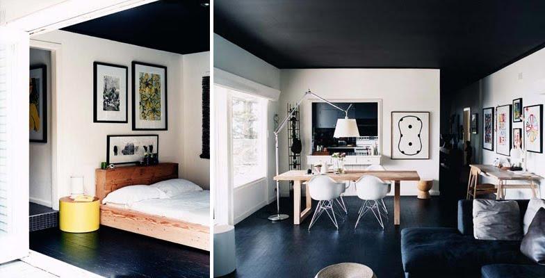 Inspiration osez peindre votre sol frenchy fancy for Fou plafond deco