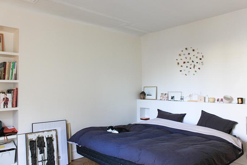Interieur parisien appartement haussmannien juliette tomas for Interieur appartement parisien