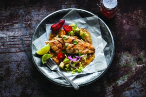 *NEW & IMPROVED* Rainbow Trout Fish Tacos with Avocado Salsa & Pickled Red Onions