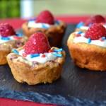 White Chocolate Raspberry Tarts (GF, DF, High Protein)