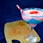 Watermelon Blueberry Coconut Healthy Daiquiri + Red Velvet Waffles