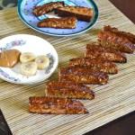 PB Banana Protein Biscottis