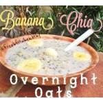 Banana Chia Overnight Oats