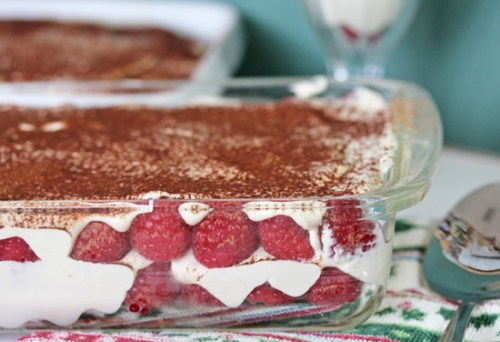 Raspberry Tiramisu will put the romance in Valentine's Day…or any day!