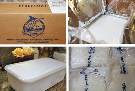 Anderson Packaging brings ice cold fish to my door!