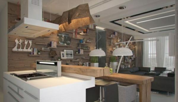 Küchen Modern Holz Weiß ambiznes - moderne kuchen weiss holz