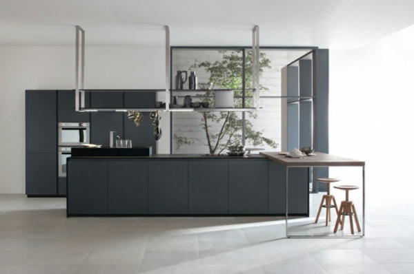 moderne kuche minimalistisch design | hwsc.us. skandinavisches ... - Bett Mit Minimalistisch Grauem Design Bilder