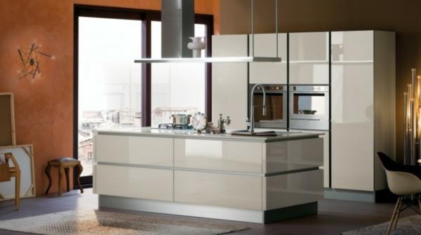 Moderne Kücheninsel U2013 Das Herz Jeder Küche U2013 Churchworkinfo   Orange  Kuche Energieschub