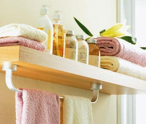 23 Kreative Tipps Zur Aufbewahrung Und Ordnung Im Badezimmer   Badezimmer  Regal