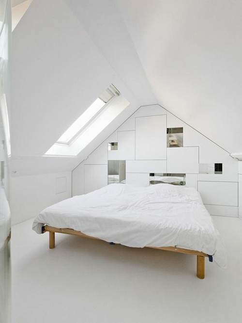 Awesome Minimalismus Schlafzimmer In Weis Contemporary - ghostwire ...