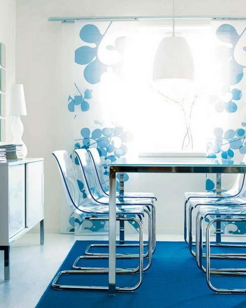 Vorhange wohnzimmer blau  Best Vorhange Wohnzimmer Blau Pictures - Barsetka.info - barsetka.info