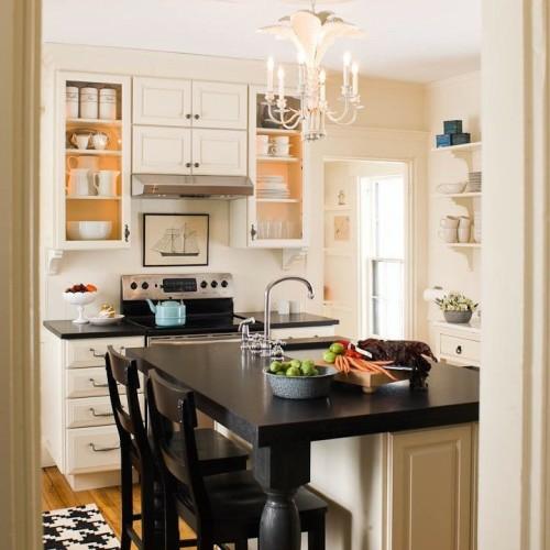 25 schicke Design Ideen für kleine Küche - nützliche Vorschläge - ideen kuche