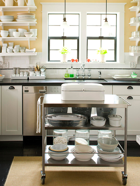 Perfekt fesselnd mobile kücheninsel möbelideen mobile kuecheninsel retro kuehlschrank