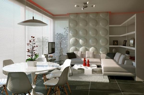 Attraktive Kombination von Wohn- und Esszimmer - wohn und esszimmer modern