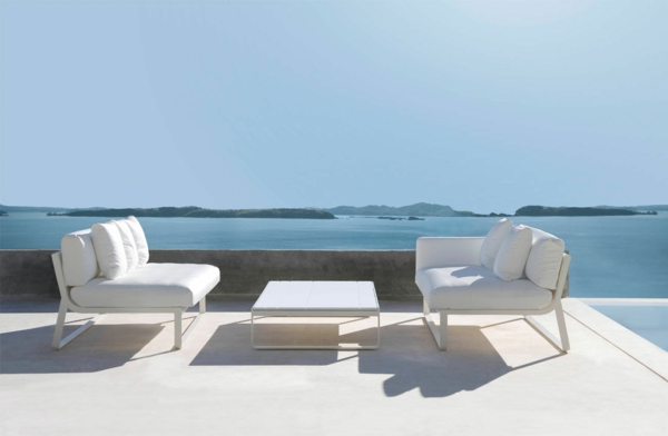 Relax Liege relax liege kunstleder design wei relax liege von - ausergewohnliche relax liege hochster qualitat