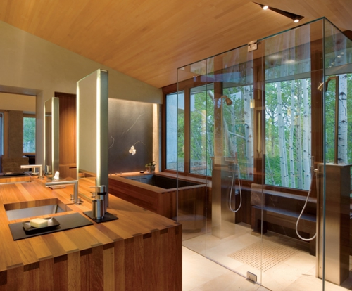 Feng Shui Badezimmer über Schlafzimmer einrichten - Tipps und Ideen - schlafzimmer einrichten holz