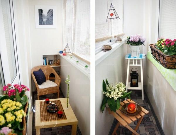 Kleiner Balkon - 40 kreative und praktische Ideen - mini balkon gestalten