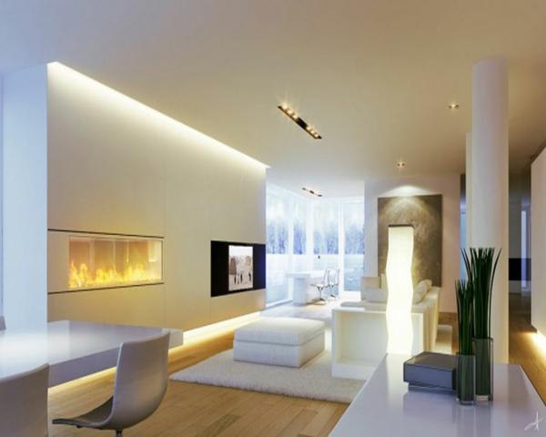 Hausdesign In Weiss Möbelideen   Designer Mobel Einrichtungsstil