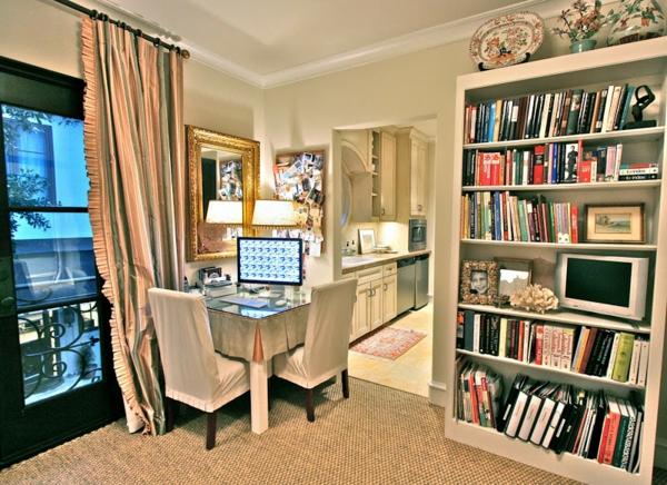 Das Interior Design modernisieren - Renovieren der Inneneinrichtung - bucherregal designs akzent interieur