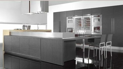 Küche Grau Weiß kochkorinfo - moderne kuchen weiss holz