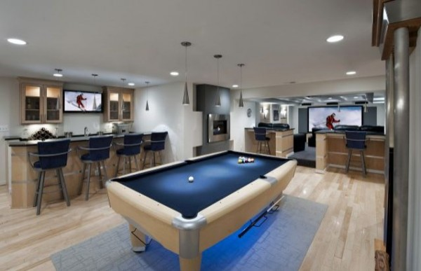 wohnzimmer-oder-spielplatz-im-keller-gestalten-billardjpg 600×387 - coole wohnzimmer ideen