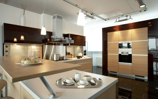 Moderne Kuche Einrichten Ausstatten Villawebinfo   Kuche Planen 100  Funktionale Gestaltungsideen