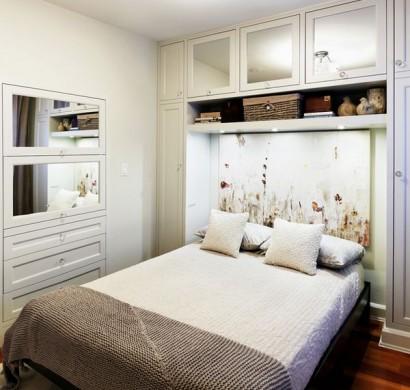 Kleine Schlafzimmer kreativ gestalten- 45 zeitgenössische Ideen - kleines schlafzimmer ideen
