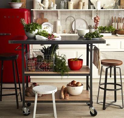 Coole Aufbewahrung Ideen für Ihre Küche - Platz sparen mit Stil - ideen f r die k che