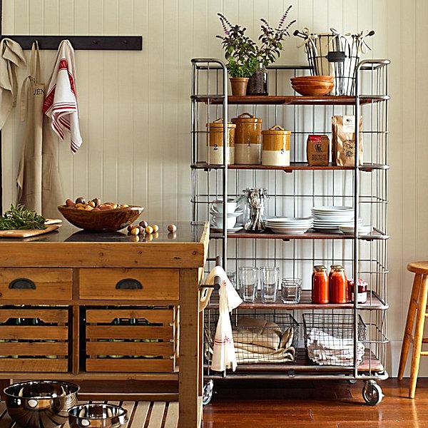 Coole Aufbewahrung Ideen für Ihre Küche - Platz sparen mit Stil - aufbewahrung regalsysteme holz