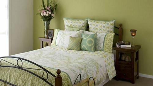Schlafzimmer Ideen Farbgestaltung Grün mxpweb - schlafzimmer ideen in grun