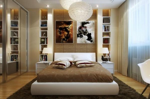 kleine schlafzimmer modern gestaltet – usblife