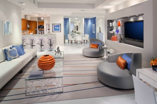 Luxus Wohnzimmer einrichten - 70 moderne Einrichtungsideen - wohnzimmer bilder modern