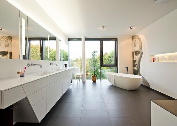 Moderne badewannen wohlfuhlerlebnis  100+ [ badrenovierung ideen ] | badezimmer badewanne dusche haus ...