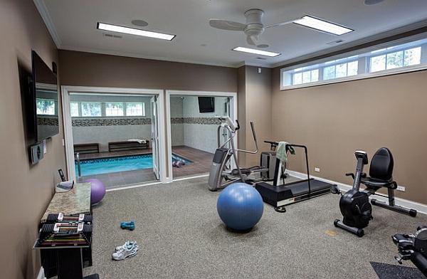 Fitnessraum zuhause luxus  Fitnessraum Zu Hause Luxus - Wohndesign