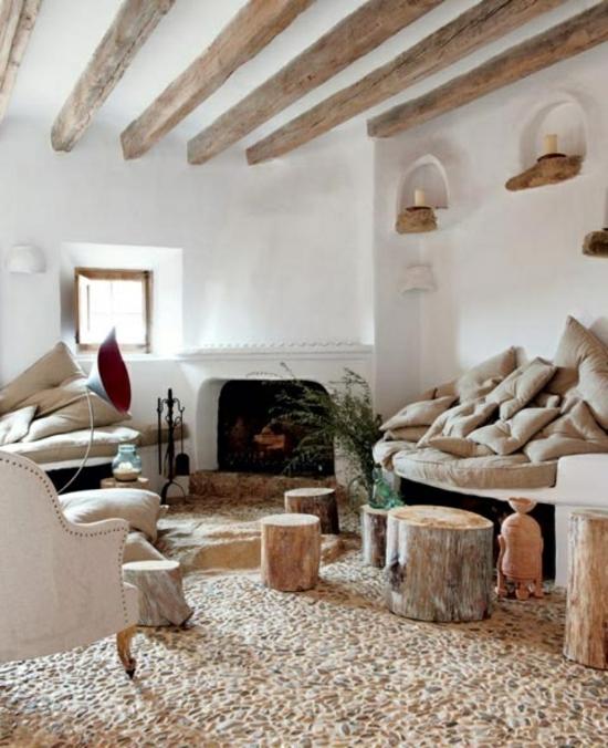 Stunning Wohnideen Wohnzimmer Holz Images - House Design Ideas - wohnideen landhausstil wohnzimmer