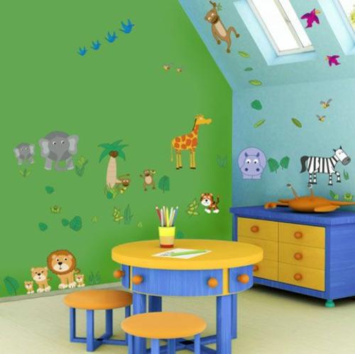 Kinderzimmer streichen - 20 bunte Dekoideen - idee kinderzimmer streichen