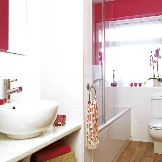 Badezimmer Rot #90   Badezimmer Rot
