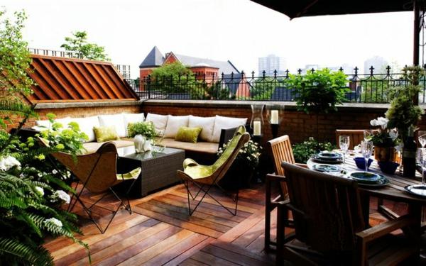 Dachterrassengestaltung Ideen, Beispiele und wichtige Aspekte - ideen terrasse gestalten