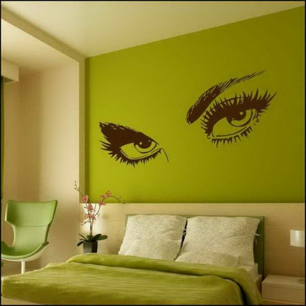 50 Wandmuster - bringen Sie Kolorit in Ihre Wohnung hinein - kuchenwand grun