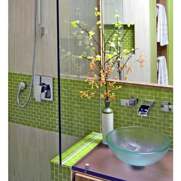 Grün Badezimmer ~ Home Design und Möbel Ideen - badezimmer fliesen holzoptik grun