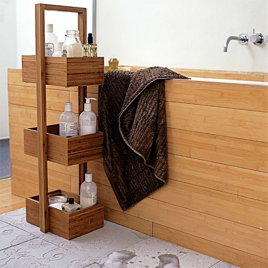 Modernes Bad 70 Coole Badezimmer Ideen - Badezimmer Rollcontainer Holz