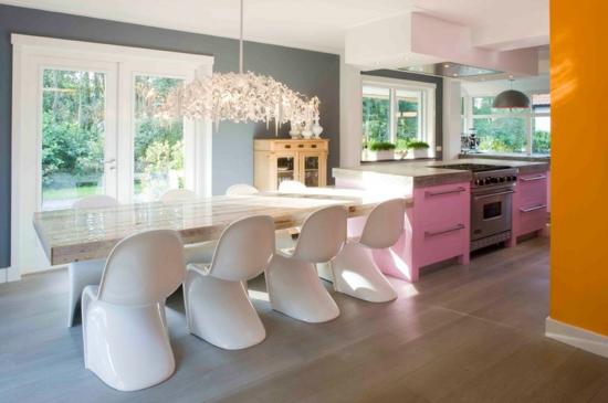 Küche einrichten - 10 Ideen zum Verlieben - wandgestaltung kuche modern