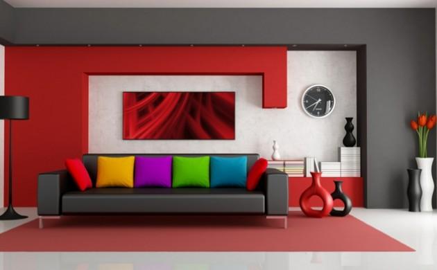 120 wohnzimmer wandgestaltung ideen archzine für große bilder ...