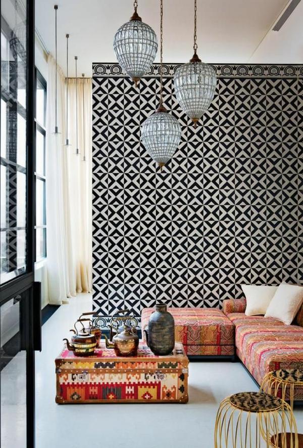 50 Wandmuster - bringen Sie Kolorit in Ihre Wohnung hinein - wandgestaltung