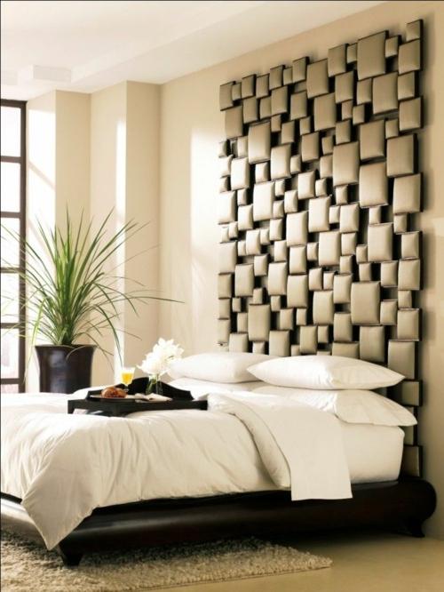 Schlafzimmer Wandgestaltung - kreative Ideen als Inspiration - gestaltung schlafzimmer ideen