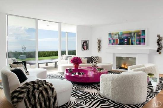 Modernes Wohnzimmer gestalten leicht gemacht - muster wohnzimmer