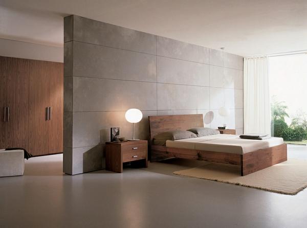 Das Schlafzimmer minimalistisch einrichten - 50 Schlafzimmer Ideen - schlafzimmer einrichten holz